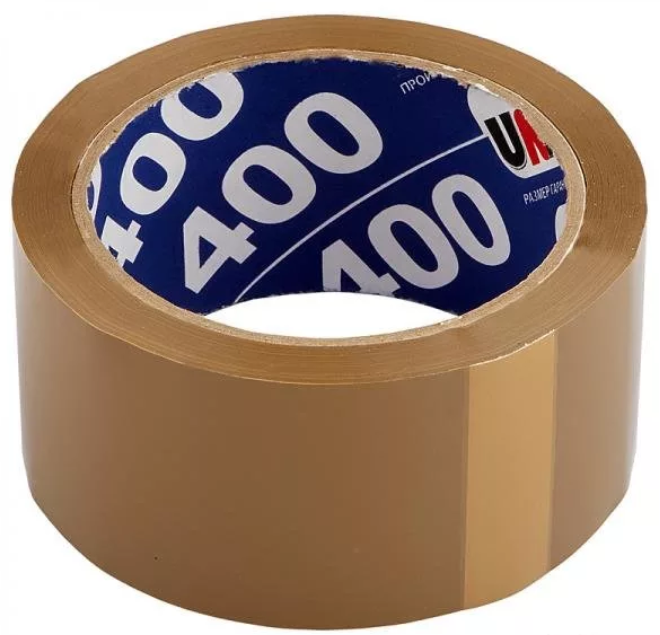 ХОЗТОВАРЫ UNIBOB арт. 333142 Скотч коричневый 48мм/66м